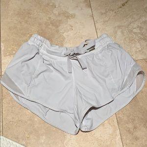 Lululemon Hotty hot shorts with tie